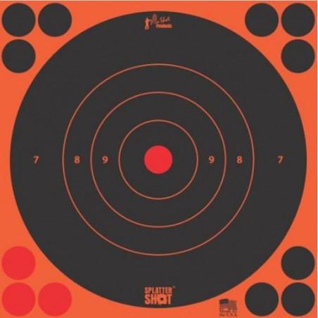 "Diana Pro-Shot Bulls-eye 12"" Orange 5 unid."