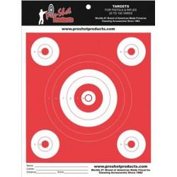 "Diana Pro-Shot Bull-eye 6"" Orange 12 unid."
