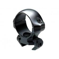Anillas Millett Acero 30 cal.22/Carril 11mm medias