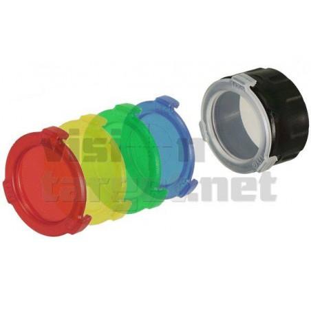 Filtros Leapers Linterna 5 Colores 42 mm
