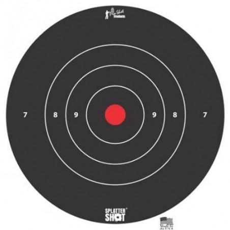"Diana Pro-Shot Bulls-eye 12"" White Tag 5 unid."