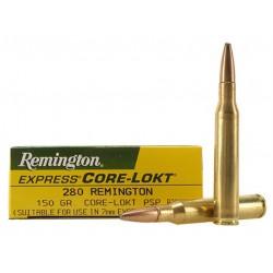 Munición Remington .280 Rem 150 gr Core-Lokt PSP
