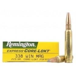 Munición Remington .338 WM 225 Core-Lokt PSP
