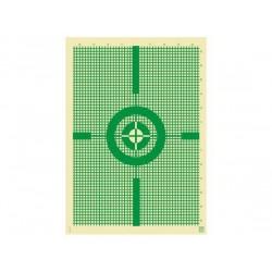 Blanco Klamer 50X70 Plomeo Verde 50 unid.