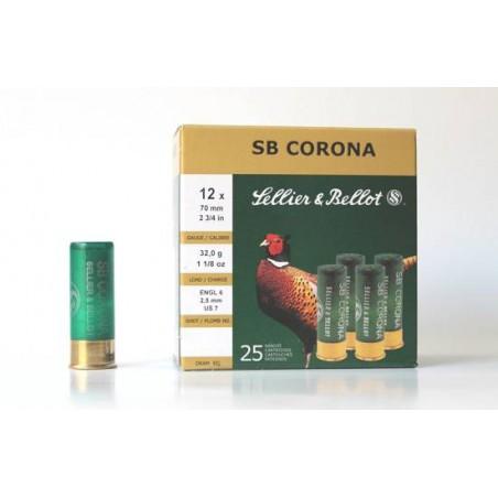 Cartucho Sellier&Bellot 12 Corona 32 gr 7
