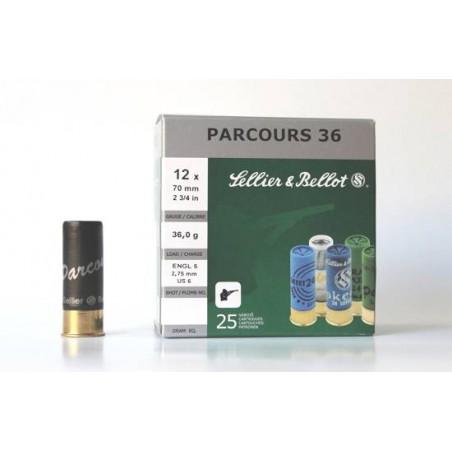 Cartucho Sellier&Bellot 12 Parcours 36 gr 6