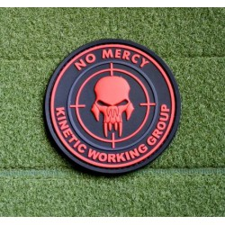 Parche JTG No Mercy Rojo