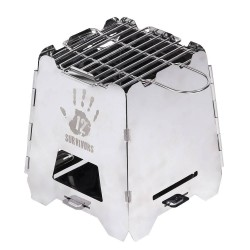 Cocina 12 Survivors Off Grid Survival Stove