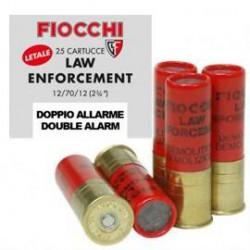 Cartucho Fiocchi .12 Doble Alarma