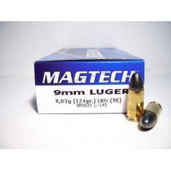 Munición Magtech 9 Pb 124...