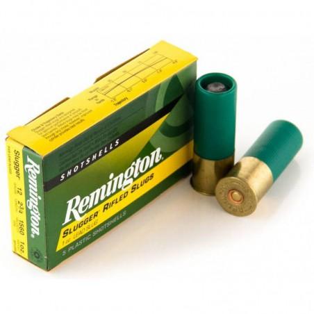 Cartucho Remington 12/70 Slugger