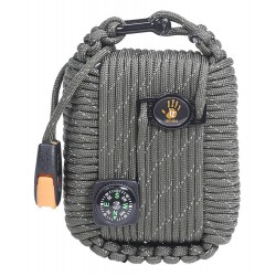 Kit 12 Survivors Paracord Survival Pod