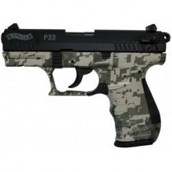 Pistola Walther P22 Camo 10 Tiros Cañón 87 mm