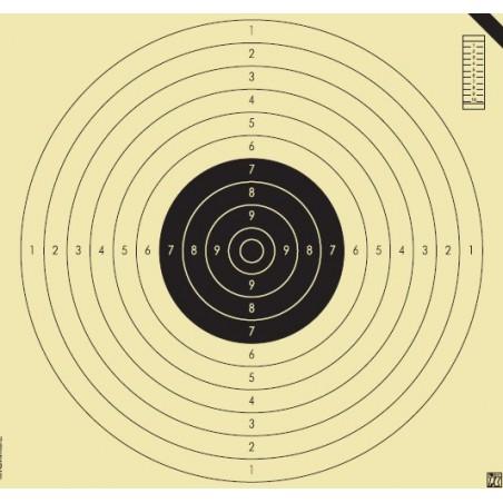 Blanco Klamer 55x52 Prueba Pistola Libre 100 unid.