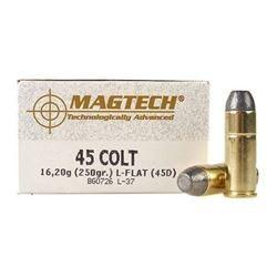Munición Magtech .45 Long Colt 250 gr LF