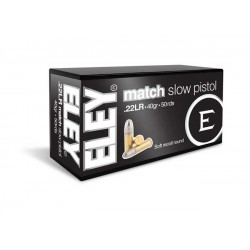 Munición Eley .22 LR Match...