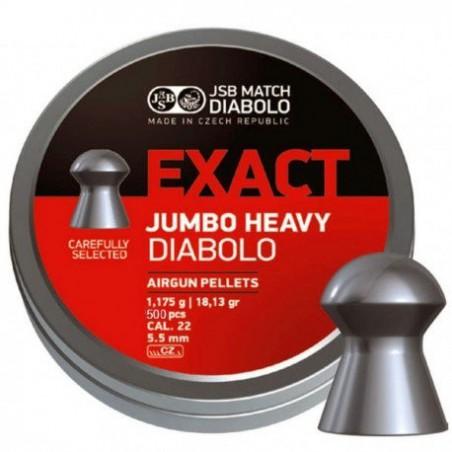Balín JSB Diabolo Jumbo Heavy 5.52 - 1.175 500 un