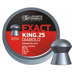 Balín JSB King. 25 6.35 - 1.645 350 und