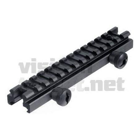 "Montura Leapers Elevadora AR15/M16 Picatinny 0.5"""
