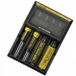 Cargador Baterías Nitecore D4