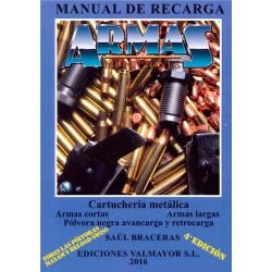 Libro Manual Recarga Armas y Municiones 4ª Edición