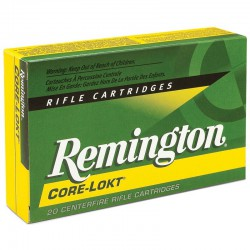 Munición Remington 264 Win Mag Core Lokt
