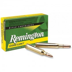 Munición Remington 30-06 Spr 150g. Core Lokt