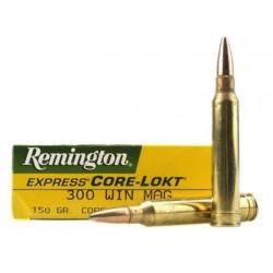Munición Remington 300 WM 150 Core Lokt