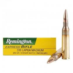 Munición Remington .338 LM Scenar