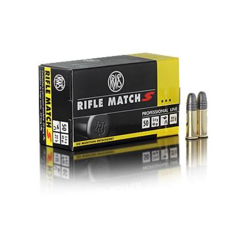 Munición RWS .22 LR 40 gr Rifle Match Speed