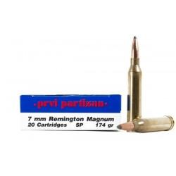 Munición PRVI 7 mm RM 174 gr SP