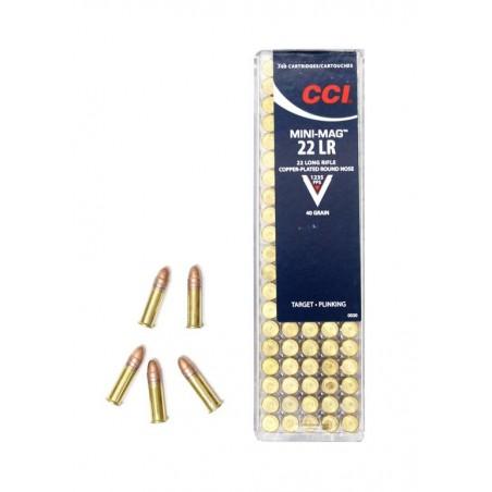 Munición CCI .22 LR 40 gr MiniMag CRN