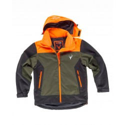 Chaqueta Hunterteam Impermeable Combinada Tricolor