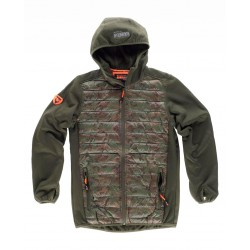 Chaqueta Hunterteam Workshell Combinado Acolchado