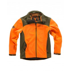 Chaqueta Hunterteam Workshell Contraste