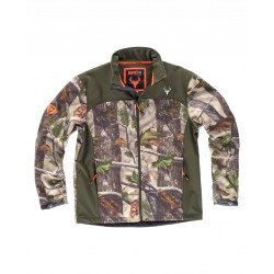 Chaqueta Hunterteam Workshell Estampado Vegetales