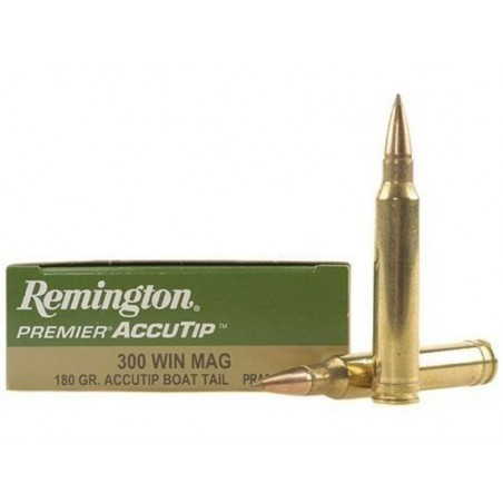 Munición Remington .300 WM 180 Accutip
