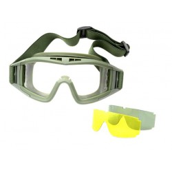 Gafas Barbaric Airsoft 3 Lentes