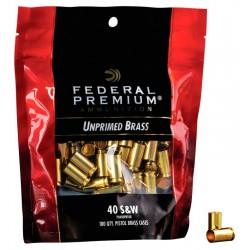 Vainas Federal 40 S&W  Bagged Brass 100 und.
