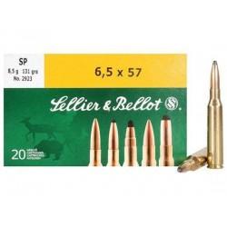 Munición Sellier&Bellot 6.5x57 131 SP