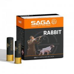 Cartucho SAGA 12 Rabbit 34 gr 8
