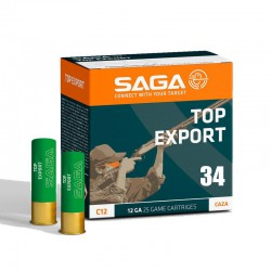 Cartucho SAGA 12 Export 34 gr 6