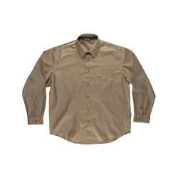 Camisa Workteam Basic Manga Larga