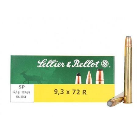 Munición Sellier&Bellot 9.3x72R 193 SP