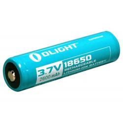 Batería Olight 18650 3.7v 2.600 mAh