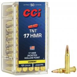 Munición CCI .17 HMR 17 gr...
