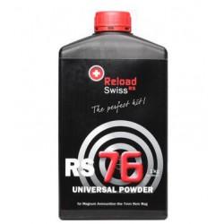 Pólvora Reload Swiss RS76 1 Kg