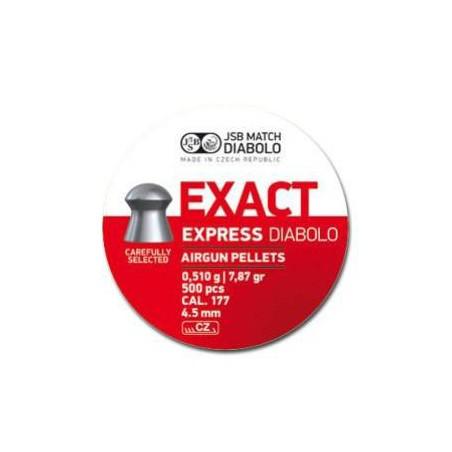 Balín JSB Exact Express 4.52 - 0.510 500 und.