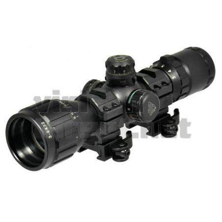 Visor Leapers 3-9x32 Compact CQB Mil-Dot