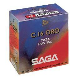 Cartucho SAGA 16 Gold 28 gr 7